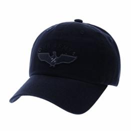 WITHMOONS Baseballmütze Mützen Caps Vintage Baseball Cap US Army Destressed Patch Adjustable CR1722 (Navy) -