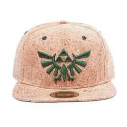 Zelda Snapback Cap mit Triforce Logo Kork -